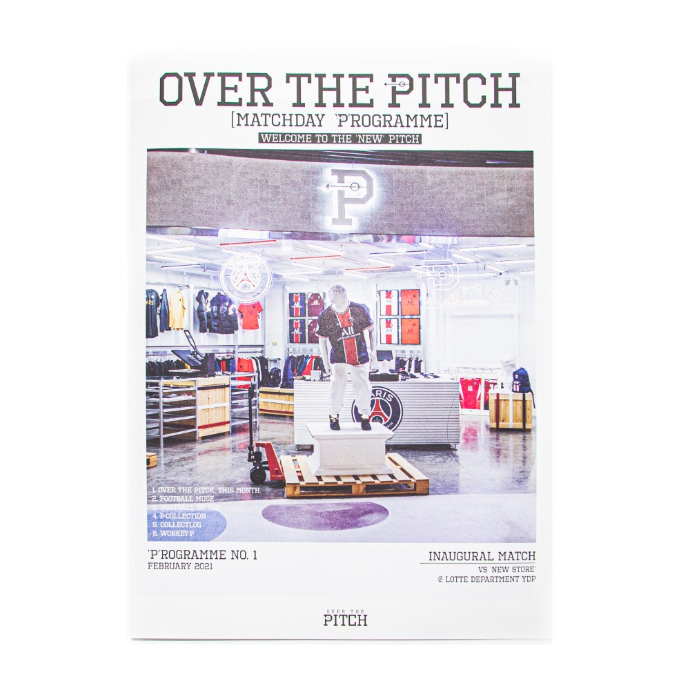 OVER THE PITCH 'P'ROGRAMME ISSUE #1