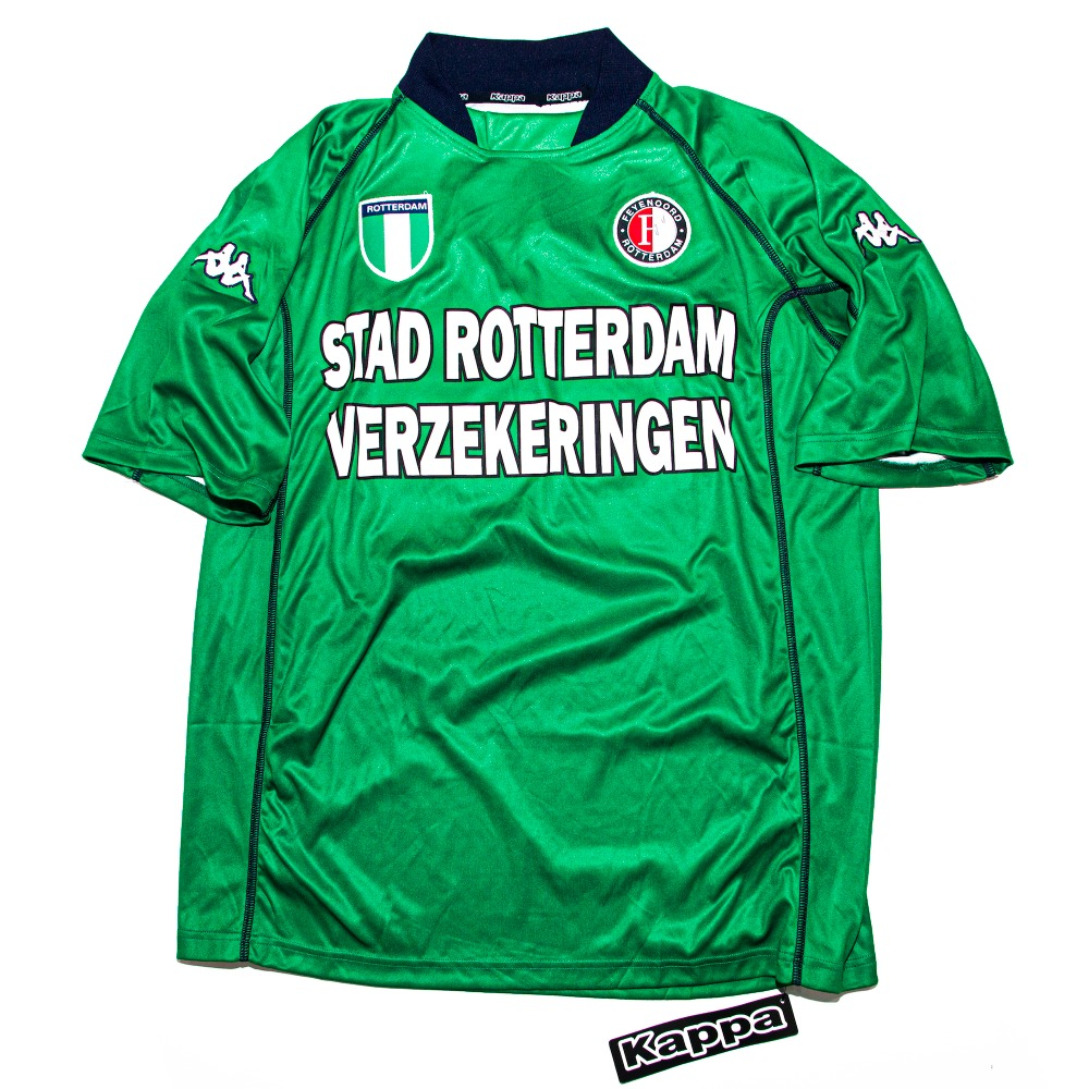 FEYENOORD 2002-2003 AWAY S/S L #24 SONG (W/TAG)