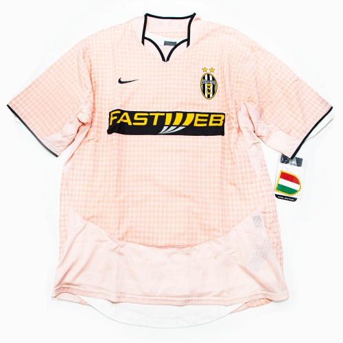 JUVENTUS. 2003-2004 AWAY AUTHENTIC S/S L #21 THURAM